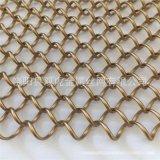 裝修設計金屬網簾 上海酒店隔斷網簾 吊頂金屬網