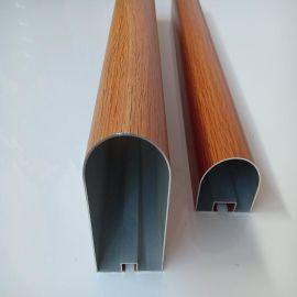 厂家定制铝方通吊顶材料厂家装饰铝通方管幕墙隔断