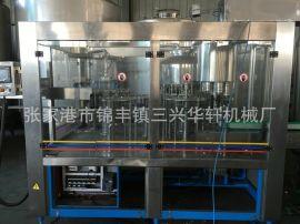 廠家直銷三合一灌裝機(飲料包裝機械)飲料包裝設備,純淨水設備