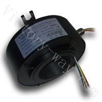 VSR-T胜途电子贵金属丝纤维刷结构通孔型导电滑环