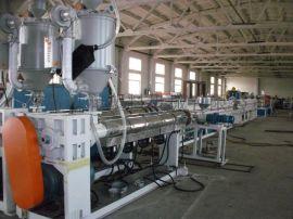 胶州现货供应PE硅芯管材生产线
