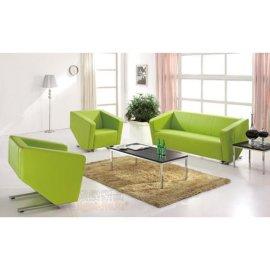 现代真皮组合沙发