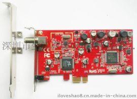 DVBSky S850 DVB-S2 PCIe 高清数字接收卡 支持高码率电视卡