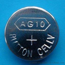 迷你小手电筒电池AG10扣式电池