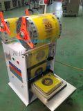 上海厂家订做直销不同尺寸餐盒、杯盒、圆盒封口机