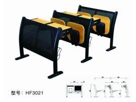 廣東廠家定制多功能會議培訓學校聯排課桌椅支持來圖