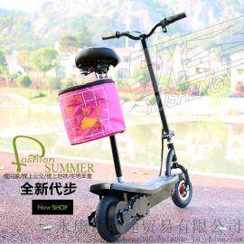 驭圣 Y6 电动滑板车代步车 上班车折叠车 便携 工厂 永康