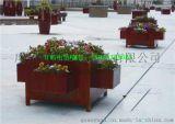 室外花园花箱  市政木花箱 售楼处组合花箱