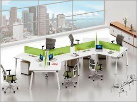 现代办公家具六人位组合办公桌
