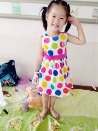 东莞2016夏季新款韩版童装|外贸童裙批发|女童装|夏款|连衣裙