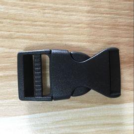 厂家直销箱包配件,塑料插扣,箱包插扣,pom背包扣,背包调节扣