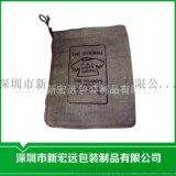廠家批發 麻布束口袋亞麻拉繩 茶袋 米袋 可定製