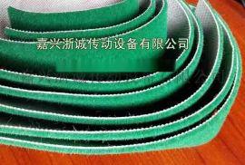 滚筒包胶绿绒包辊带 绿绒防滑刺皮 绿绒植绒胶皮