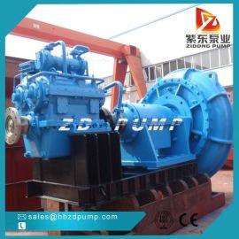 紫东泵业ZN500重型挖泥泵,耐磨卧式河道抽砂泵