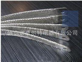厂家直销大量耐弯曲铜导电带 铜编织线软连接 镀锡铜线软连接 编织带铜母排