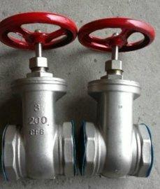 不锈钢内螺纹闸阀 (Z15W-16P, Z11H-16C)