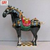 喬遷工藝品擺件陶瓷馬 唐三彩陶瓷馬擺件