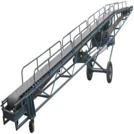 变幅式双向升降皮带机 宽度可定制皮带输送机qc
