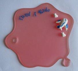小水滴杯垫 硅胶杯垫定制