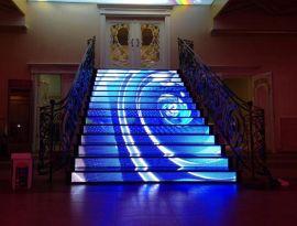 视界P1O  led异形屏创意led显示屏异形led显示屏led地砖屏led阶梯屏