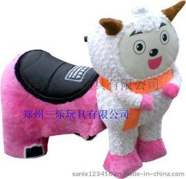 遼寧沈陽美羊羊毛絨電動車多少錢一臺