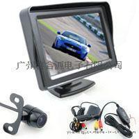 4.3寸帶擋陽車載顯示器 無線倒車影像 可視系統