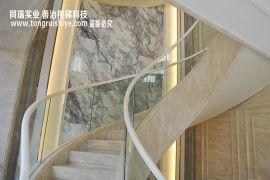 上海专业玻璃楼梯扶手定制厂家