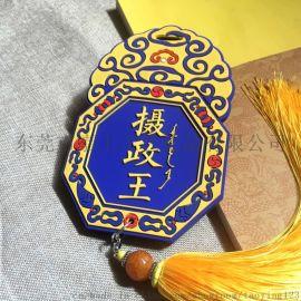 中国古代宫廷元素 大内密探行李牌 个性创意