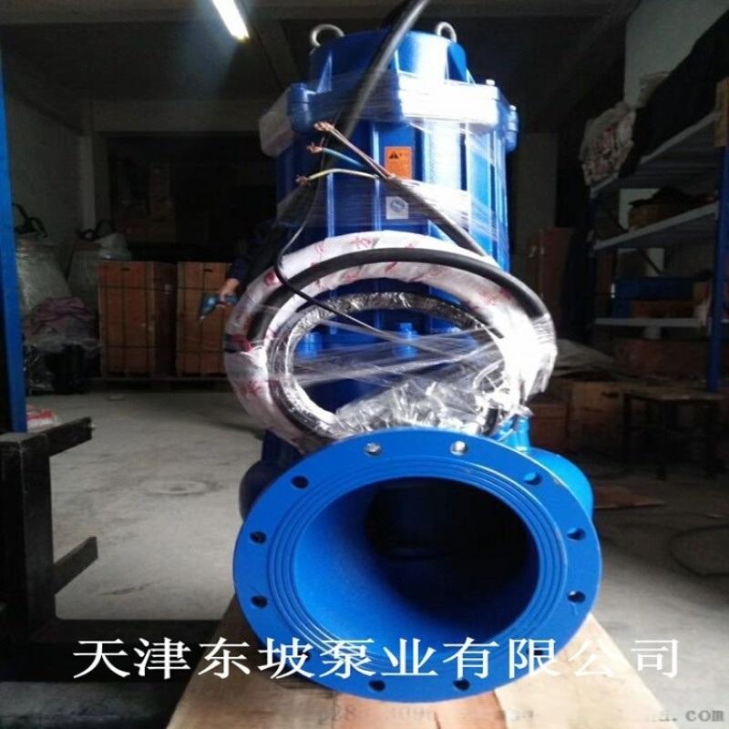 无堵塞潜水排污泵 无堵塞式排污泵