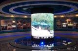广场商场酒店圆立柱显示屏,方立柱LED电视显示屏
