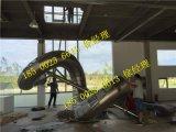 户外大型不锈钢滑梯游乐场定制18500236613