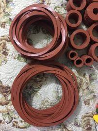 厂家供应红色硅橡胶垫 硅橡胶垫性能