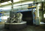 大型台车式抛丸机 转台式抛丸清理零件除锈机