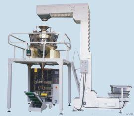 虾条自动称重包装机、披萨膨化片自动计量包装机
