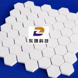 臻牌马赛克陶瓷片95瓷微晶氧化铝耐磨陶瓷片