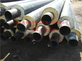 高密度聚乙烯聚氨酯保温管 直埋式预制保温管 聚氨酯发泡保温管DN70