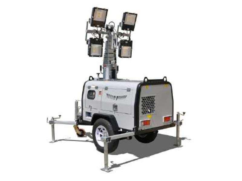 路得威移動照明車RWZM61C柴油款150Wx4