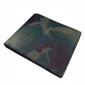 迷彩钱包钱夹 真皮短款钱包定制 皮具厂家专业生产FL18