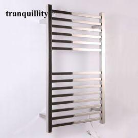14杆方管不鏽鋼電熱毛巾架,浴室專用毛巾架