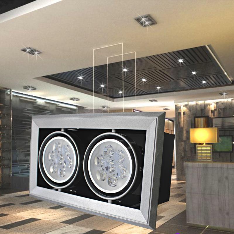 工厂直销豆胆射灯,AR90大功率款12W/24W/36W,商场办公酒店大厅照明灯具