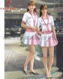 啤酒服 深圳促銷服定做定製促銷套裝 夏季工衣定製