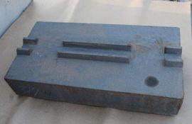 反击破板锤 锰钢板锤 破碎机板锤 高铬板锤