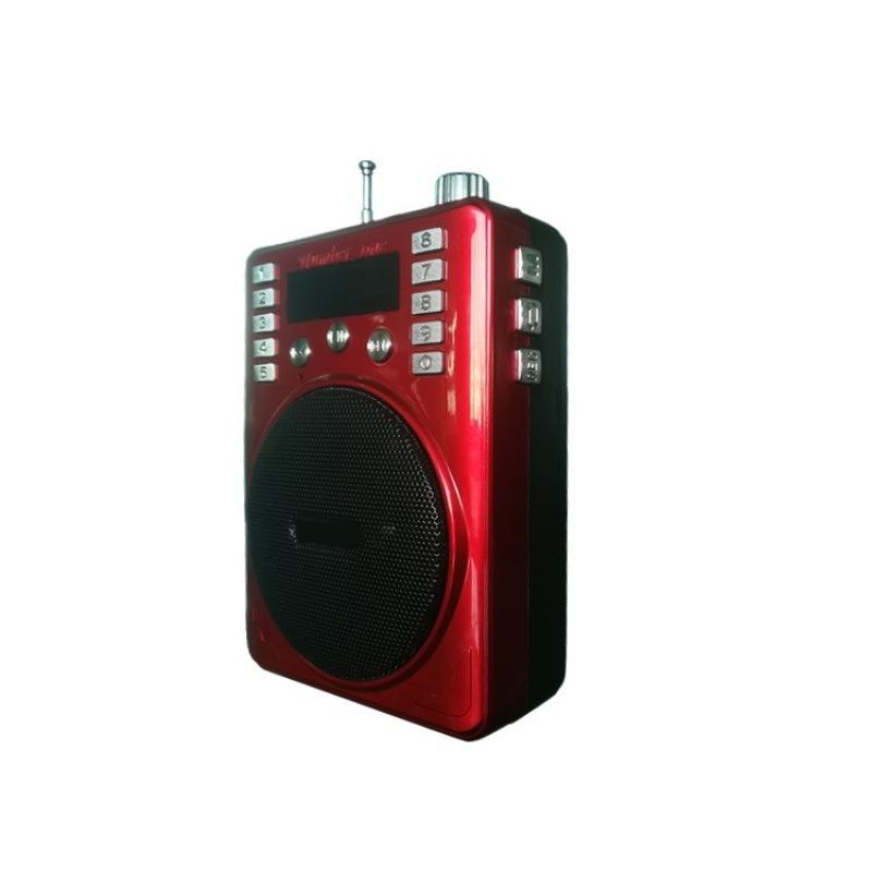 多功能插卡扩音器 喊话机教学导游晨练便携式扩音机