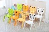 幼兒園卡通加厚塑料凳子幼兒園座椅環保兒童可愛靠背椅