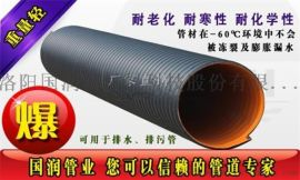 DN800市政工程排污钢带波纹管厂家直销