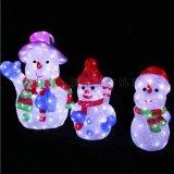 LED聖誕燈雪人立體冰雕燈LED圖案造型燈