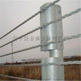 桂林公路钢丝绳索护栏加工厂家,柔性绳索护栏属性