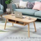 北欧铁艺茶几小户型客厅大理石迷你创意简易实木茶桌