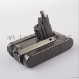 21.6v替代dyson dc58 dc59 dc62 V6戴森吸尘器电池扫地机充电锂电池
