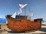 无锡木船厂出售景观船海盗船装饰船